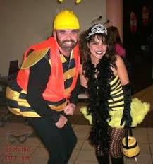 Bee Halloween Costume Mama Beehive Baby Bee Costumes Beehive Diy Halloween