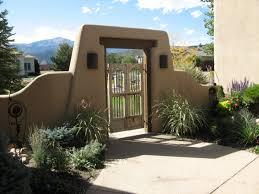 Santa Fe Style House Santa Fe Style Courtyards Contemporary Santa Fe Style Courtyard