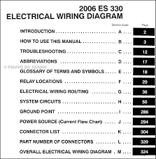 2005 lexus es330 sedan review 2006 lexus es 330 wiring diagram manual original
