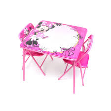 Mickey Mouse Table And Chairs by Disney Minnie Mouse Erasable Activity Table Set With 3 Markers