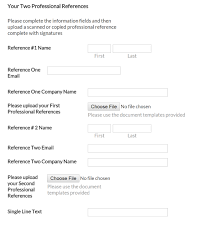 template for letter of reference the pet professional accreditation board reference policy this is an example of how the reference letter section on the submission form looks