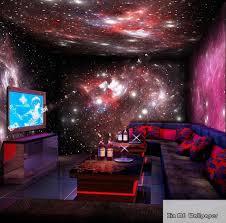 Wohnzimmer Bar Restaurant 4 Styles Sterne Sternenhimmel Raum 3d Wallpaper Wandbild Rolle
