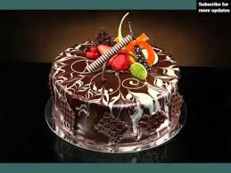 square chocolate cake decoration mouth watering picture