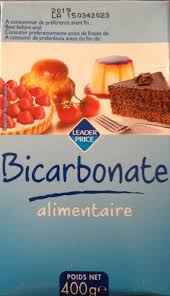 bicarbonate de sodium en cuisine bicarbonate alimentaire leader price 400 g