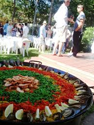 corporate catering home paella sydney event food best quality