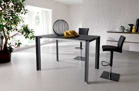 Contemporary Dining Table Contemporary Dining Table Wooden Glass Steel T231 Wing Up