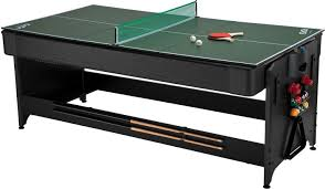 3 in one pool table fat cat original 3 in 1 7 foot pockey game table air hockey
