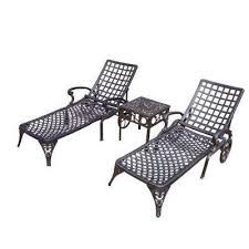 oakland living outdoor chaise lounges patio chairs the home