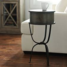 round distressed end table distressed round accent table kirklands
