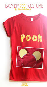 Halloween T Shirts For Adults by Diy Winnie The Pooh Costume No Sew
