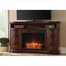 cherry electric fireplaces fireplaces the home depot