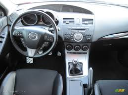 mazda 2011 2011 mazda mazda3 mazdaspeed3 black dashboard photo 54427782