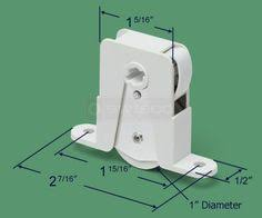 Replacing Patio Door Rollers by Legacy Keyed Handle Set 3 15 16