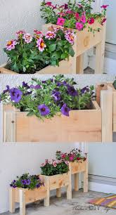 Patio Planter Box Plans by Best 20 Wooden Planters Ideas On Pinterest Wooden Planter Boxes