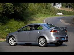 mitsubishi ralliart 2009 mitsubishi ralliart grey rear and side 1600x1200 wallpaper