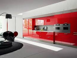 kitchen red kitchen cabinets and 33 ideas fabulous red wall