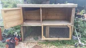 Rabbit Hutch With Run For Sale Rabbit Hutches And Run Local Classifieds For Sale In The Uk And