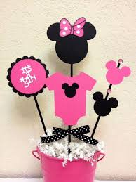 minnie mouse baby shower ideas minnie mouse baby shower decoration centerpieces its a girl