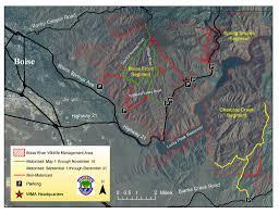 Boise Greenbelt Map Boise River Wma Maplets