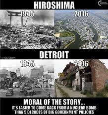 Detroit Meme - misleading detroit vs hiroshima photo comparisons metabunk