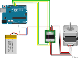 fritzing project stepper motor for arduino repoprojectssstepper