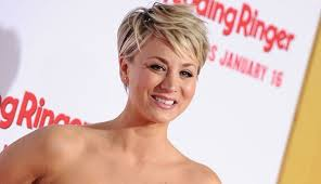 why kaley cucoo cut her hair kaley cuoco hairstyles haircuts short pixie bangs updos