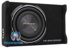pioneer photo box pioneer 10 car speaker and subwoofer enclosures ebay