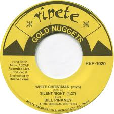 45cat bill pinkney and the original drifters white christmas