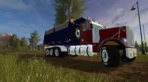 freightliner freightliner fld12064sd dump v1 0 for fs 17 farming simulator