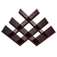 sorbus wine rack stand sorbus sleek 4 in x 11 5 in butterfly wine rack stores 8