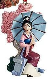 limited edition 2011 disney princess mulan ornament by
