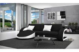 canapé design noir et blanc canapé design selene angle droit fabrication européenne