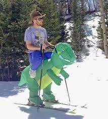 Skiing Meme - this guys skiing costume meme guy