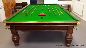 full size snooker table george wright and co full size antique snooker table 12ft x 6ft