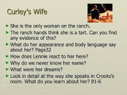 Curley S Quotes Of Mice And Men Revision Key Points
