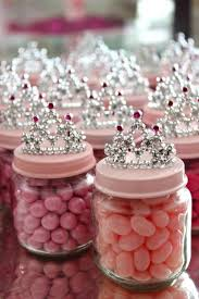 baby girl baby shower ideas diy baby food jar princess crown party favors crown party food