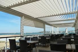 Pergola System by The Bioclimatique Louver Roof Pergola Cover Retractableawnings Com