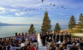 lake tahoe wedding venues edgewood tahoe weddings