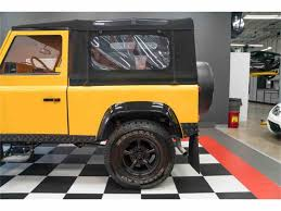 land rover defender convertible for sale 1987 land rover defender for sale classiccars com cc 997060