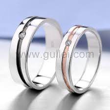 promise ring sets for him and matching engraved promise ring bands for him and personalized