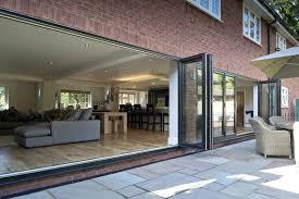 Upvc Folding Patio Doors Prices Enchanting Bi Fold Glass Grey Ral Upvc Bifolding Doors