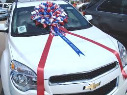 big bow for car present bigh bows for cars and big gifts