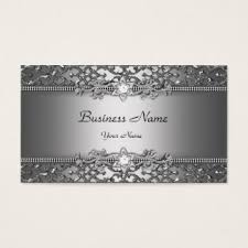 embossed business cards templates zazzle