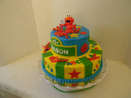 custom cakes by christy elmo sesame street cake