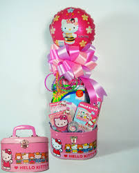 Gift Baskets For Teens Hello Kitty Oval Purse Gift Basket For Girls