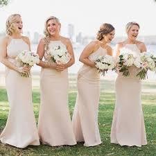 bridesmaid dress ideas chagne bridesmaid dress new wedding ideas trends