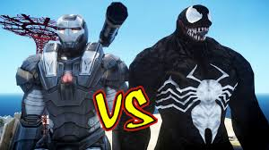 war machine iron man vs venom epic battle youtube