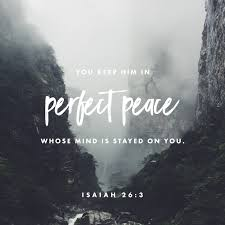 thanksgiving in hebrew you keep him in perfect peace whose mind is stayed on you because