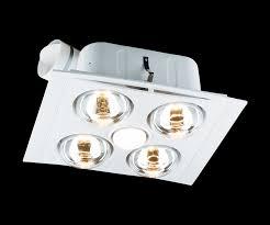 bathroom light fan heater combo