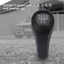 bmw e30 gear knob kkmoon 5 speed black car style manual gear shift knob stick